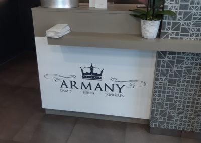 armany interieur sticker